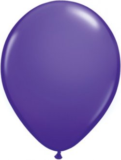 "5"" Purple Violet Latex Balloons 100pk"