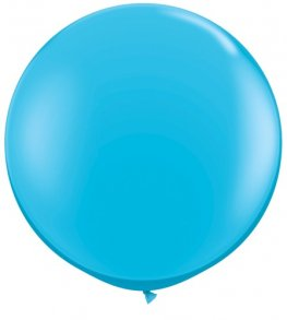 3ft Robins Egg Blue Latex Balloons 2pk