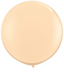 3ft Blush Latex Balloons 2pk