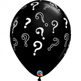 "16"" Question Marks Latex Balloons 50pk"