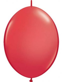 "6"" Red Quick Link Latex Balloons 50pk"