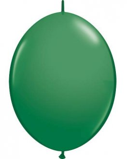 "6"" Green Quick Link Latex Balloons 50pk"