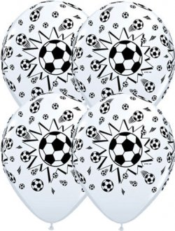 "11"" Football Latex Balloons 25pk"