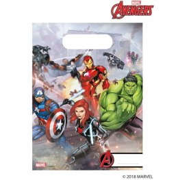 Mighty Avengers Party Bags 6pk
