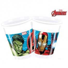 Mighty Avengers Plastic Cups 8pk