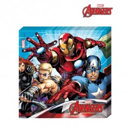 Mighty Avengers Paper Lunch Napkins 20pk