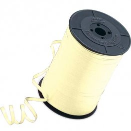 Ivory Curling Ribbons 500m