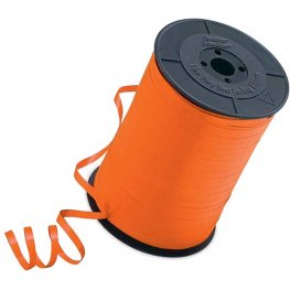 Orange Curling Ribbons 500m