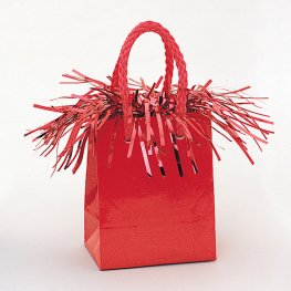Red Gift Bag Weights