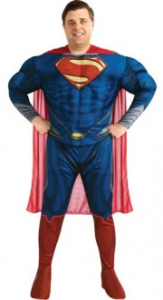 Deluxe Superman Man Of Steel Adult Costume
