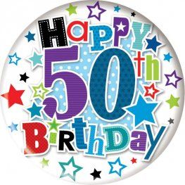 Its My 50th Today Jumbo Bages