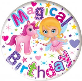 Magical Birthday Jumbo Badge