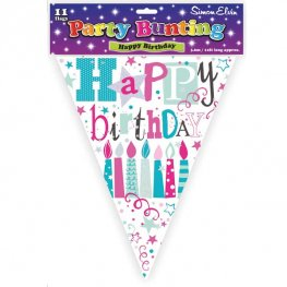 Happy Birthday Candles Bunting