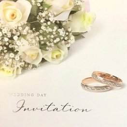 Wedding Day Invitation Cards 6pk