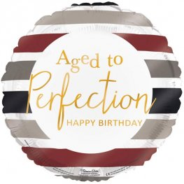 "18"" Aged To Perfection Foil Balloons"