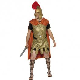 Gladiator Tunic Male Fancy Dress Costumes Medium Size Only