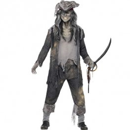 Ghost Ship Ghoul Pirate Halloween Costume