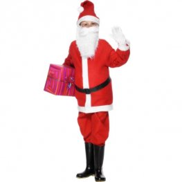 Santa Boy Fancy Dress Costumes