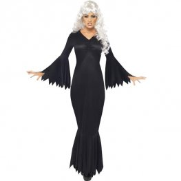 Midnight Vamp Halloween Fancy Dress Costumes
