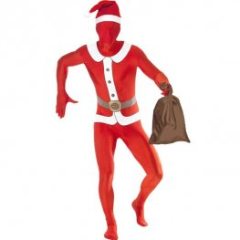 Second Skin Santa Fancy Dress Costumes