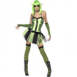 Wild Ivy Elf Halloween Fancy Dress Costumes