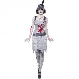 1920s Zombie Halloween Fancy Dress Costumes