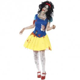 Zombie Snow Fright Halloween Costume