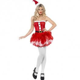 Fever Tutu Santa Fancy Dress Costumes