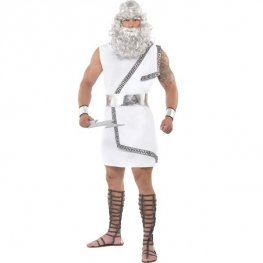 Zeus Fancy Dress Costumes Medium Size Only