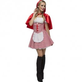 Fever Red Riding Hood Fancy Dress Costumes