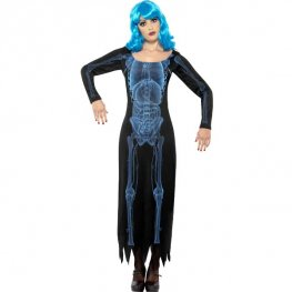 Ladies X Ray Halloween Fancy Dress Costumes