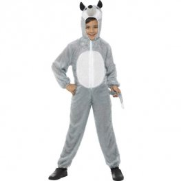 Wolf Fancy Dress Costumes Age 7-9