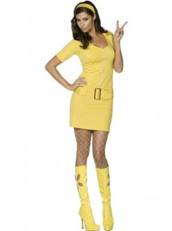 Fever 60s Mod Babe Size 16-18 2 Left