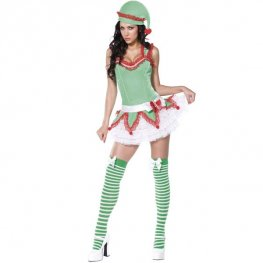 Fever Boutique Elf Fancy Dress Costumes