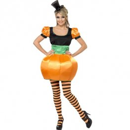 Ladies Pumpkin Halloween Costume
