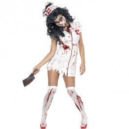 Zombie Nurse Halloween Fancy Dress Costumes