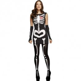 Sexy Skeleton Halloween Fancy Dress Costumes