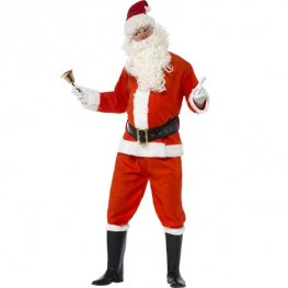 Deluxe Santa Fancy Dress Costumes