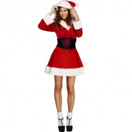Fever Hooded Santa Costumes