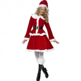 Miss Santa Fancy Dress Costumes