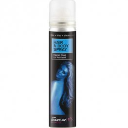 Blue UV Hair And Body Spray