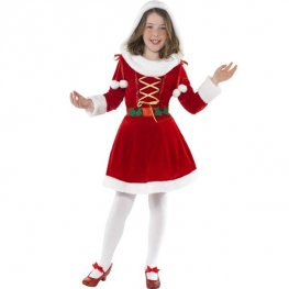 Little Miss Santa Fancy Dress Costumes