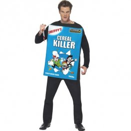 Cereal Killer Halloween Fancy Dress Costume
