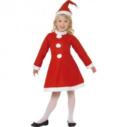 Girl Santa Fancy Dress Costumes