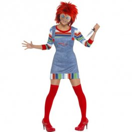 Officially Licensed Female Chucky Fancy Dress Costumes