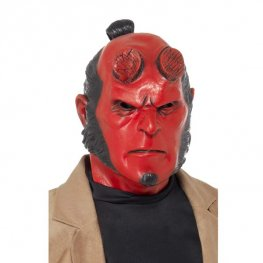 Officially Licensed Latex Hell Boy Mask