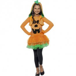 Pumpkin Tutu Dress Girls Costume