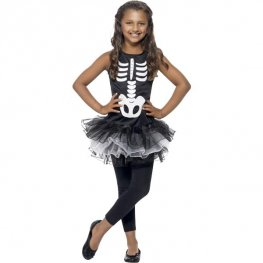 Skeleton Tutu Kids Costume