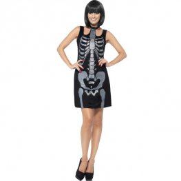 Skeleton Shift Dress