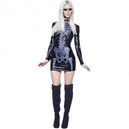 Fever Miss Whiplash Skeleton Costumes